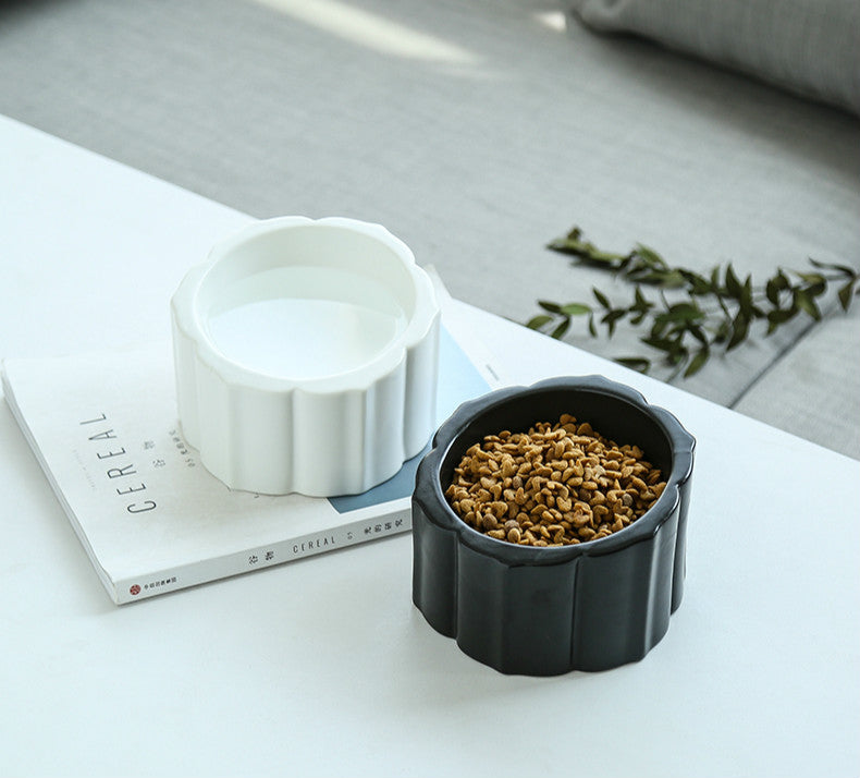Anti-Tipping Ceramic Pet Bowl - happyandpolly