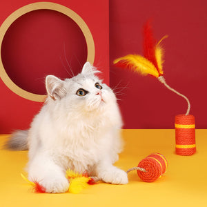 Sisal Firecracker Cat Toy