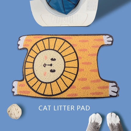 Animal Pattern Cat Litter Pad