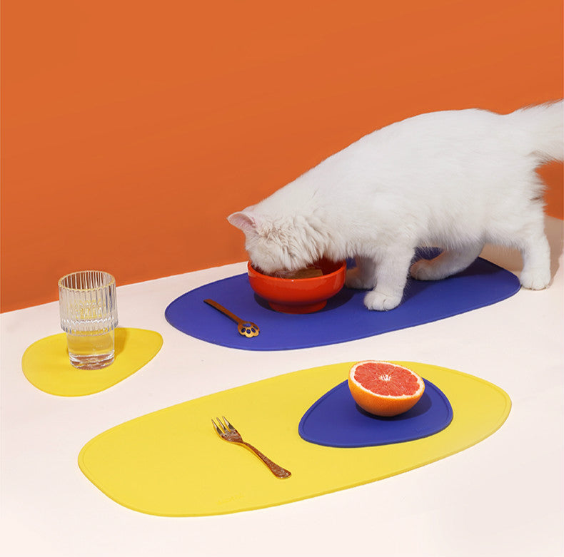 Waterproof Silicone Dog Cat Feeding Mat