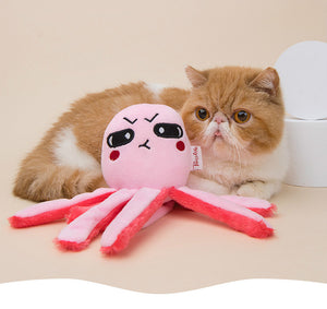 Plush Octopus Cat Toys