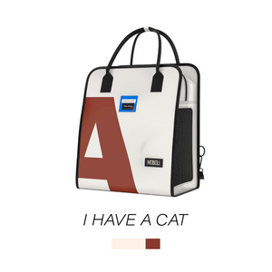 I HAVE A CAT Series 2-in-1 Pet Carrier Backpack
