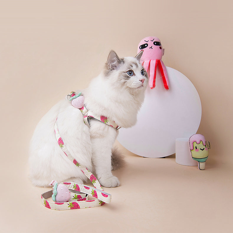 Fruit Style Cat Harness - happyandpolly