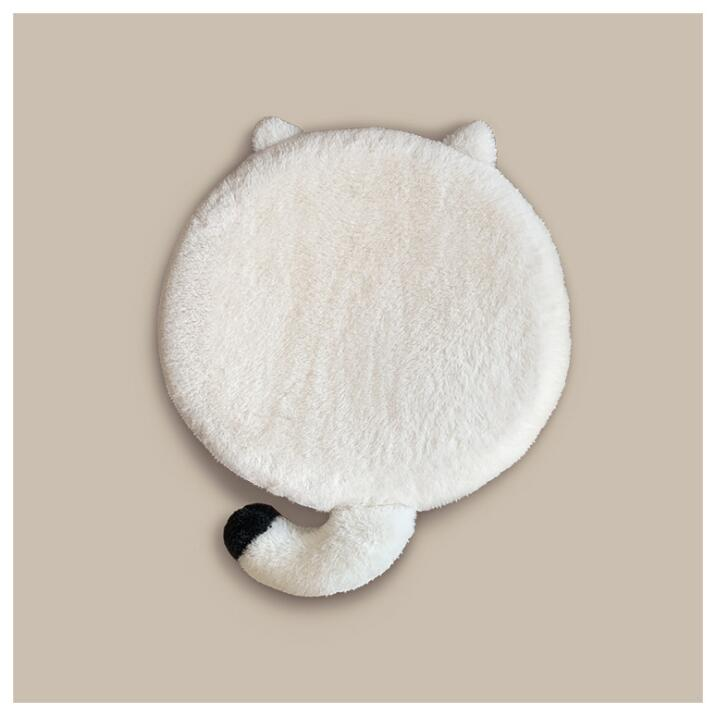 Cat Shaped Soft Cat Mat - happyandpolly