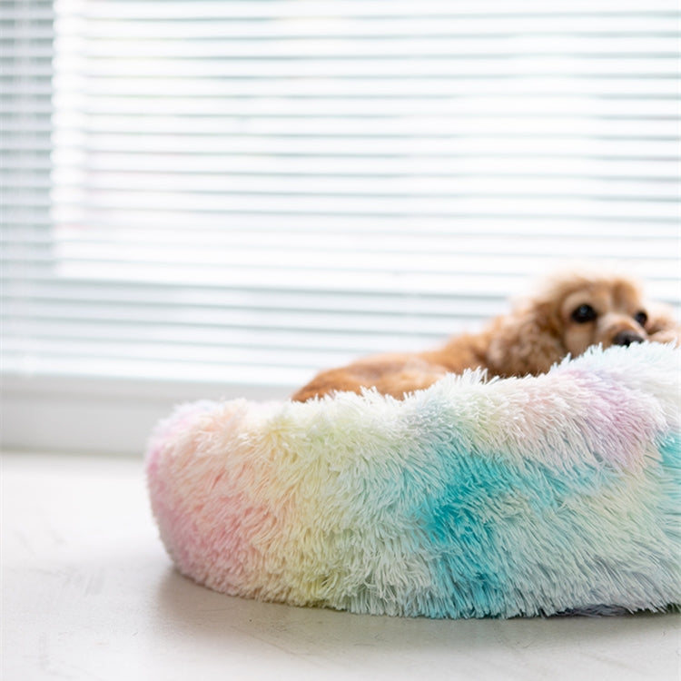 Rainbow Series Unicorn Color Dog Bed