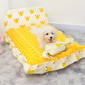 Korean Style Removable and Washable Pet Bed