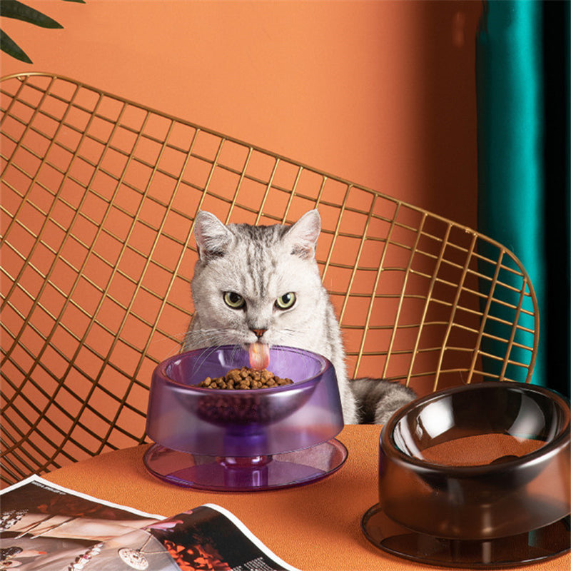 Adjustable Angle Cat Food Bowl