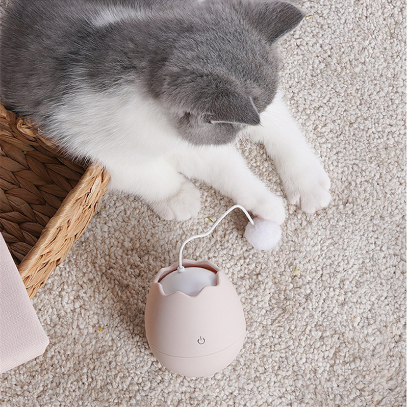 Eggshell Tumbler Automatic Cat Toy