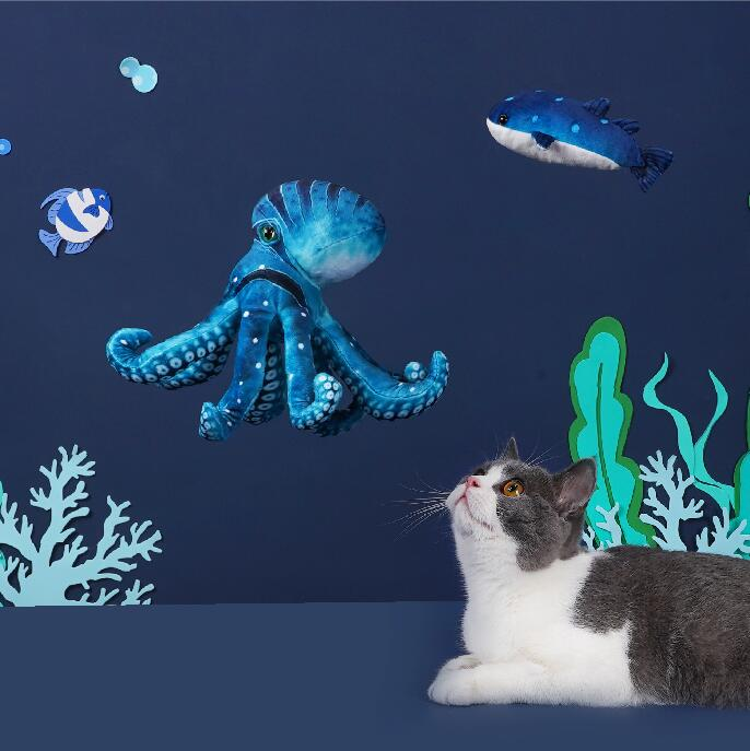 Underwater animal Style Cat Toy - happyandpolly