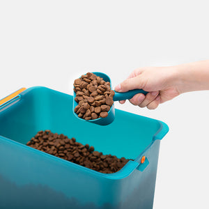 Large Pet Cat Food Storage Container