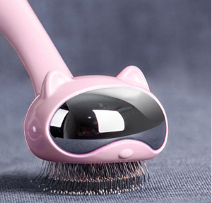 Cats Comb Brush Grooming Tool - happyandpolly
