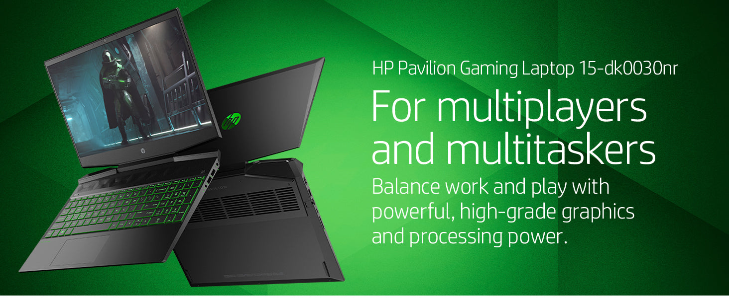 "HP Pavillion 16.1"" Gaming Laptop"
