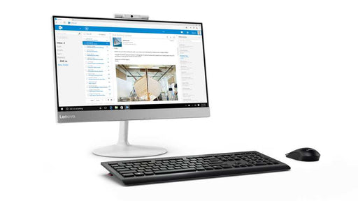 "Lenovo All-in-One V530-22 - FHD 21.5"" Core i5-9400T 3.4GHz 6-Cores,  4GB RAM, 1TB HDD, DVD RW, Intel HD Graphic, Wired Keyboard & Mouse - Dos."