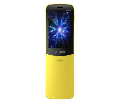 Xtouch Xslider Classic Unique Design Dual Sim Phone - Banana Yellow