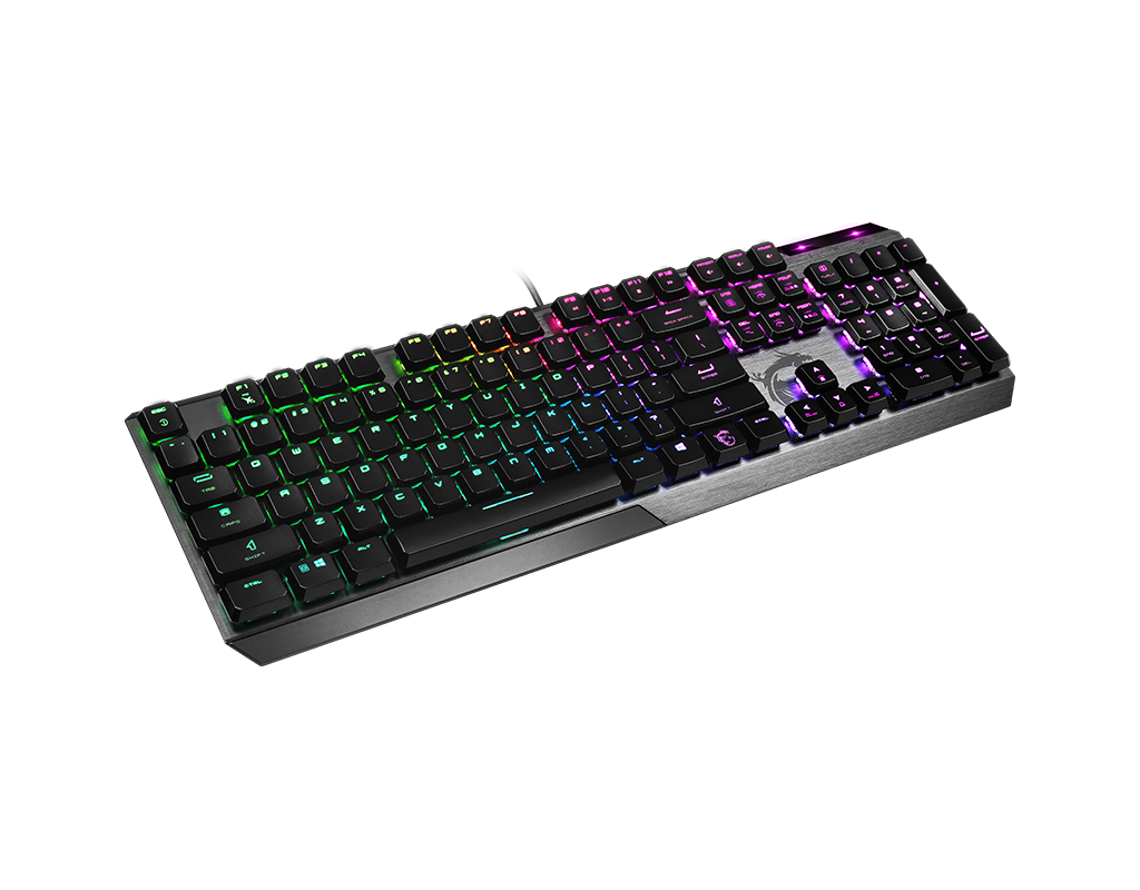 VIGOR GK50 LOW PROFILE RGB GAMING KEYBOARD