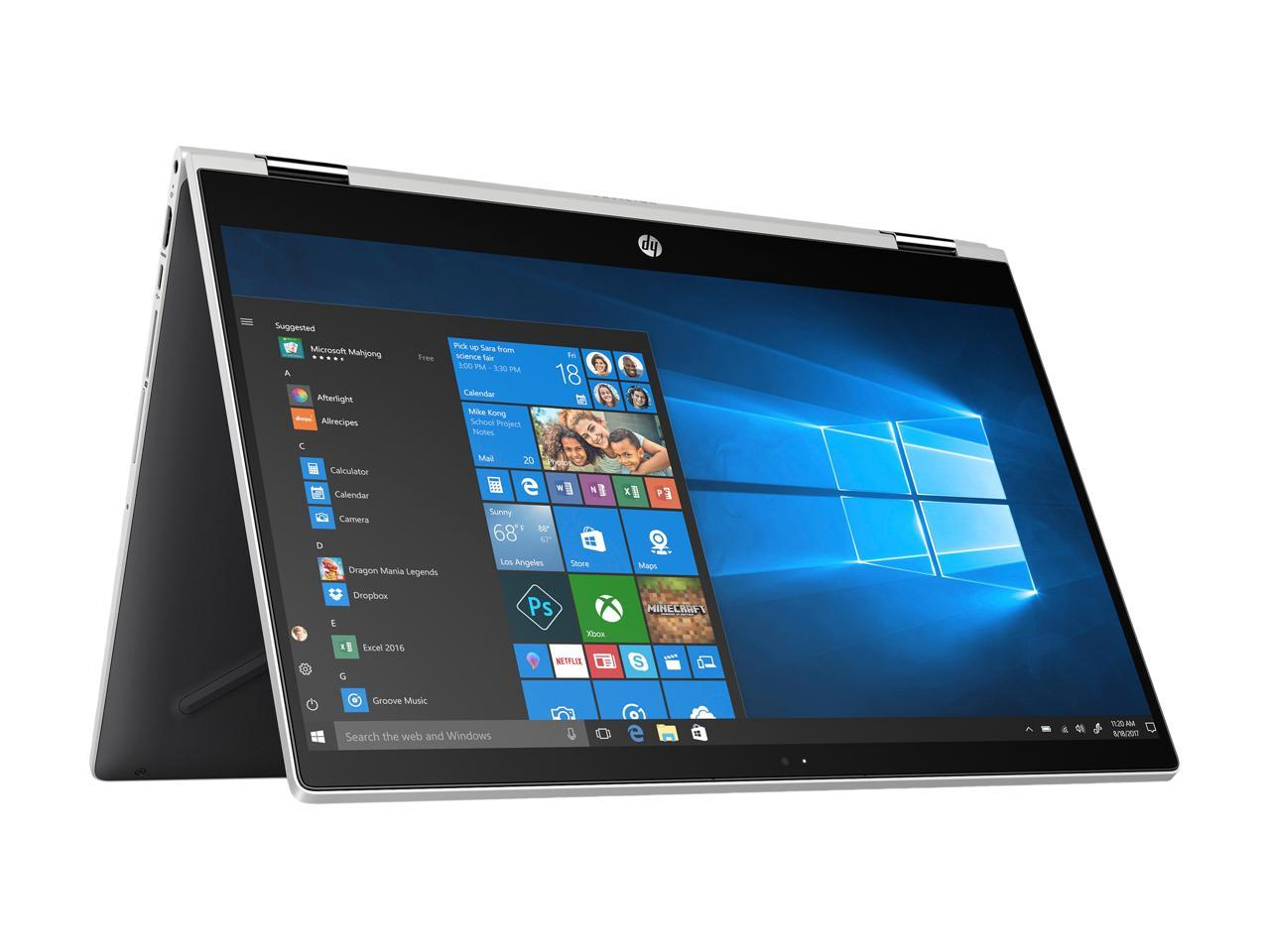 HP Pavilion x360 Convertible Touchscreen Laptop - 15.6