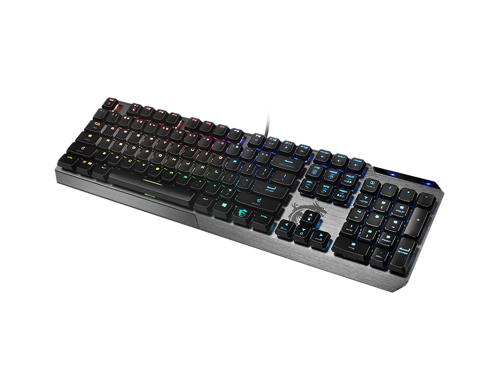 Gaming Keyboard - Vigor GK50 Low Profile RGB Gaming Keyboard