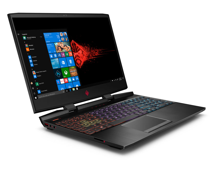 "Omen by HP Gaming Laptop 15.6"", Intel Core i7-9750H, NVIDIA GTX 1660Ti 6GB, 16GB RAM, 256GB SSD, Omen Headset and Mouse Included ($100 Value), 15-dc1088wm - Laptoponsale"