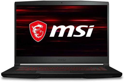 "MSI GF63 THIN 15.6"" Gaming Laptop - Thin Bezel, Core i7-9750H, GeForce GTX 1050 Ti, 8GB RAM, 256GB SSD - 9RCX-818"