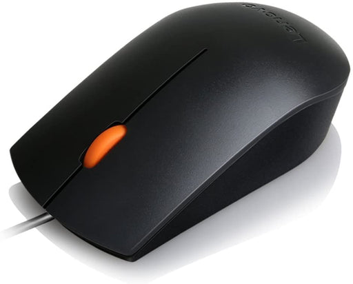 Lenovo GX30M39704 300 Mouse | Right & Left-Handed Wired USB Mouse | For All Lenovo Products & For General Purposes