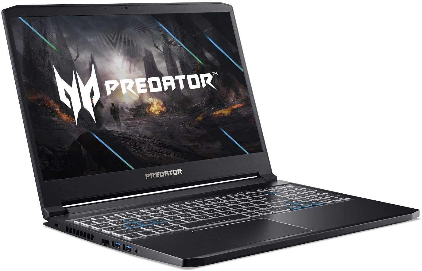 Acer Predator Triton 300 Gaming Laptop - 240Hz, Core i7-10750H, 16GB RAM, 512GB SSD, 8GB NVIDIA GeForce RTX 2070 Max-Q, RGB Keyboard - Windows 10