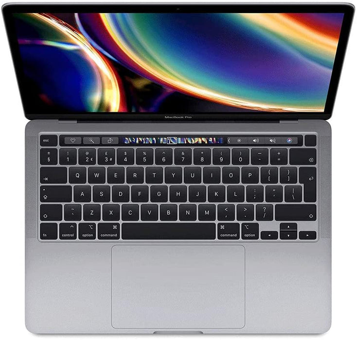 "Apple MacBook Pro 2020 Model - 13"" Intel Core i5, 2.0Ghz, 16GB RAM, 512GB SSD, Touch Bar, 4 Thunderbolt 3 Ports, MWP72, Eng-KB - Silver"