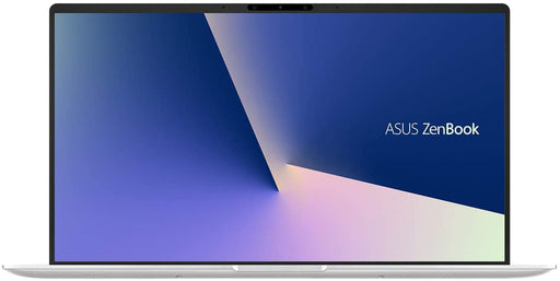 Asus Zenbook 14 Ultrabook Laptop - Core i5-10210U, 16GB RAM, 256GB SSD, Nvidia Geforce MX250 2GB, Full HD, Windows 10, Eng-Arb-KB - Icicle Silver