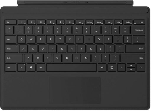 Microsoft FMN-00001 Surface Pro Type Keyboard Cover Compatible with Surface Pro 3 and Surface Pro 4 - Black