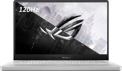 ASUS ROG Zephyrus G14 Gaming Laptop - AMD Ryzen 9, 120Hz, 16GB RAM, 1TB SSD, NVIDIA GeForce RTX 2060 Max-Q, Windows 10 - Moonlight White