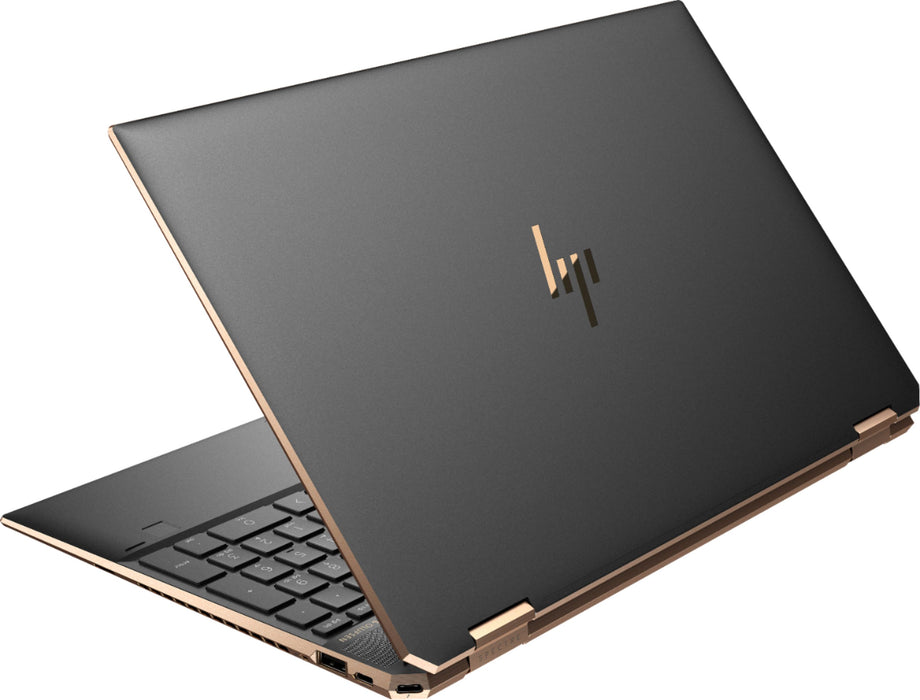 "HP Spectre 4K Touchscreen Laptop - 15.5"" Intel® Core™ i7-10510U, 16GB RAM, 512GB SSD + 32-Optane, 2GB NVIDIA GeForce MX330, Windows 10 - Black"