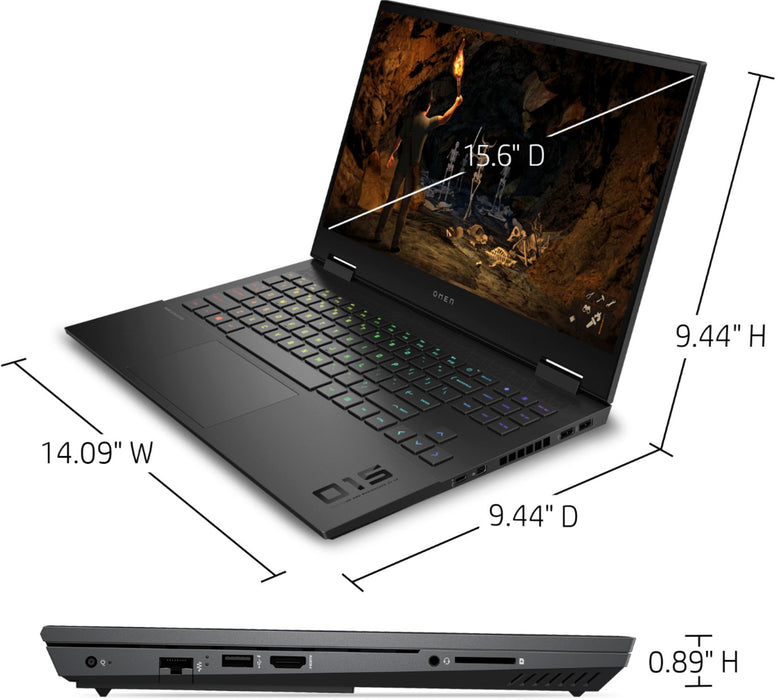 "HP OMEN 2020 Gaming Laptop - 15.6"" Core™️ i7-10750H 