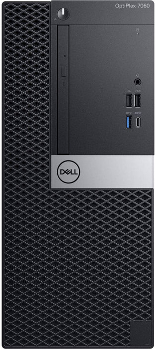 Dell OptiPlex 7060 Mini Tower, Core i7-8700, 4GB ,1TB , DOS