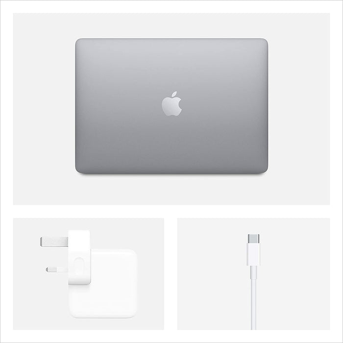 Apple Macbook Air 2020 Model - 13-Inch, Intel Core i3, 1.1Ghz, 8GB Ram, 256GB SSD, English Keyboard, MWTJ2 - Space Gray