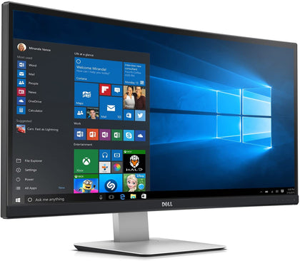 Dell UltraSharp Curved LED-Lit Monitor - 34-Inch LED Monitor - U3415W