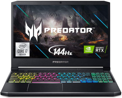Acer Predator Helios 300 Gaming Laptop - Intel i7-10750H | 16GB RAM | 512GB SSD | GeForce RTX 2060 6GB @ 144Hz | RGB Keyboard - Windows 10 Home