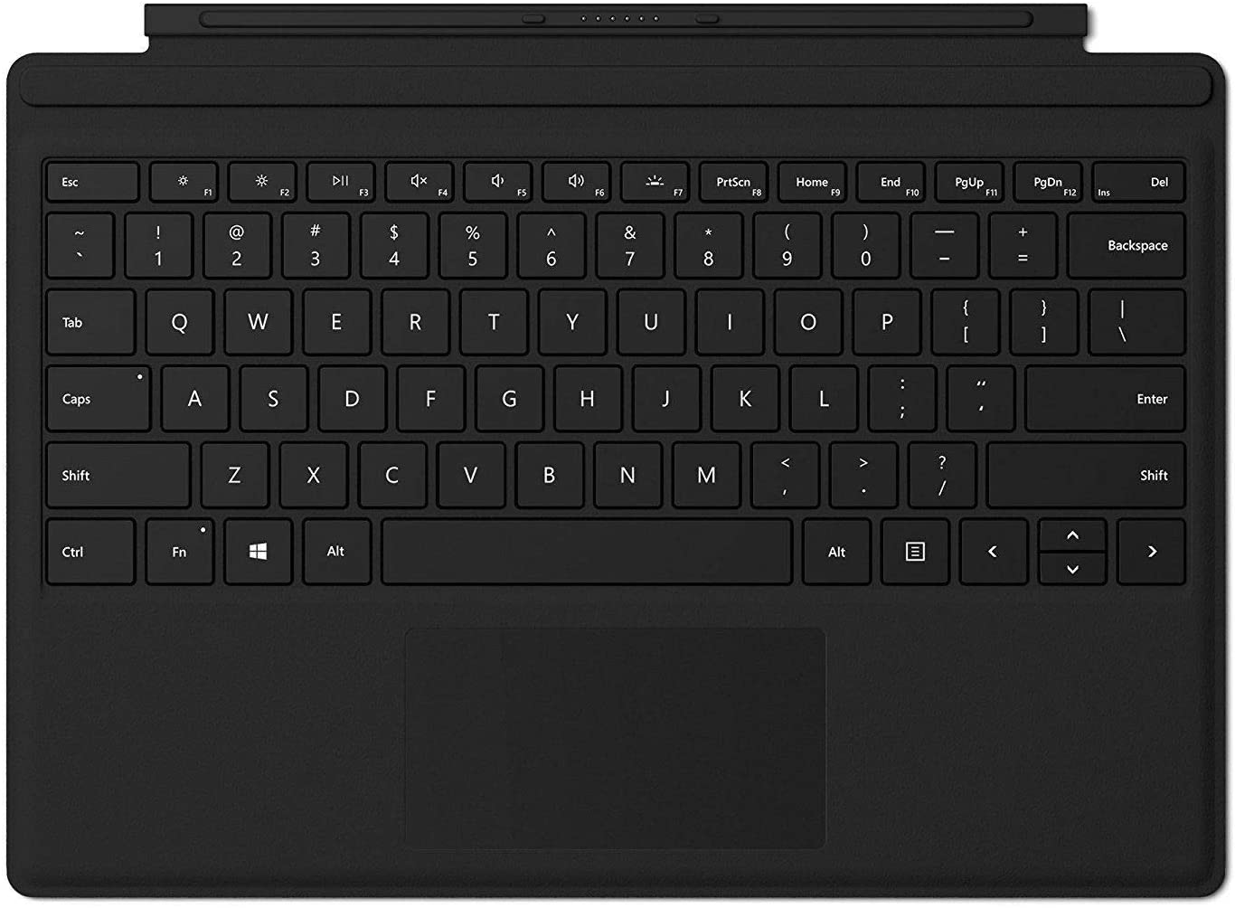 Microsoft Surface Pro Type Cover, English Keyboard, Black Color - [FMM-00014]