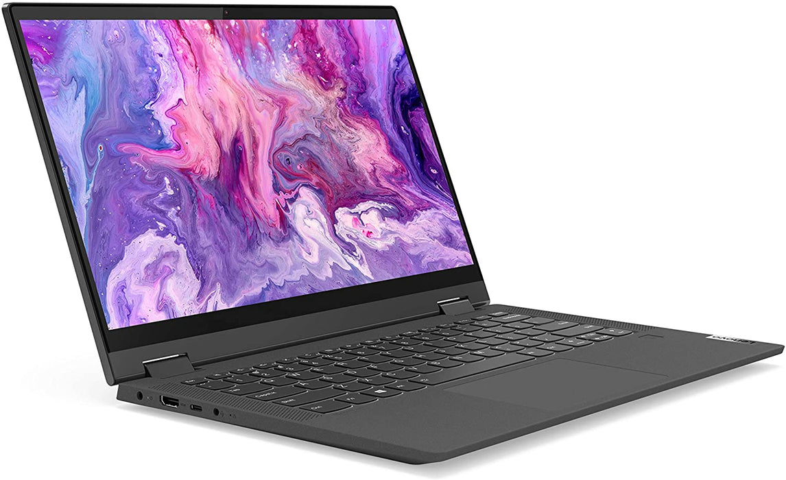 "Lenovo Flex 5 Convertible Laptop - 14"" FHD Touchscreen, AMD Ryzen 5 4500U, 16GB RAM, 256GB SSD, AMD Radeon Graphics, Windows 10 - Graphite Grey"