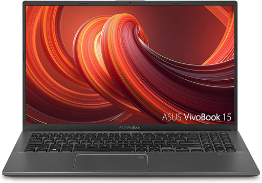 "ASUS VivoBook Laptop - 15.6"" FHD, Intel i3-1005G1 CPU, 8GB RAM, 128GB SSD, Backlit Keyboard, Fingerprint, Windows 10 Home in S Mode - Slate Gray"