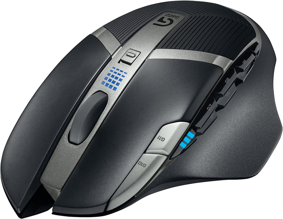 Logitech G602 Lag-Free Wireless Gaming Mouse – 11 Programmable Buttons, Up to 2500 DPI