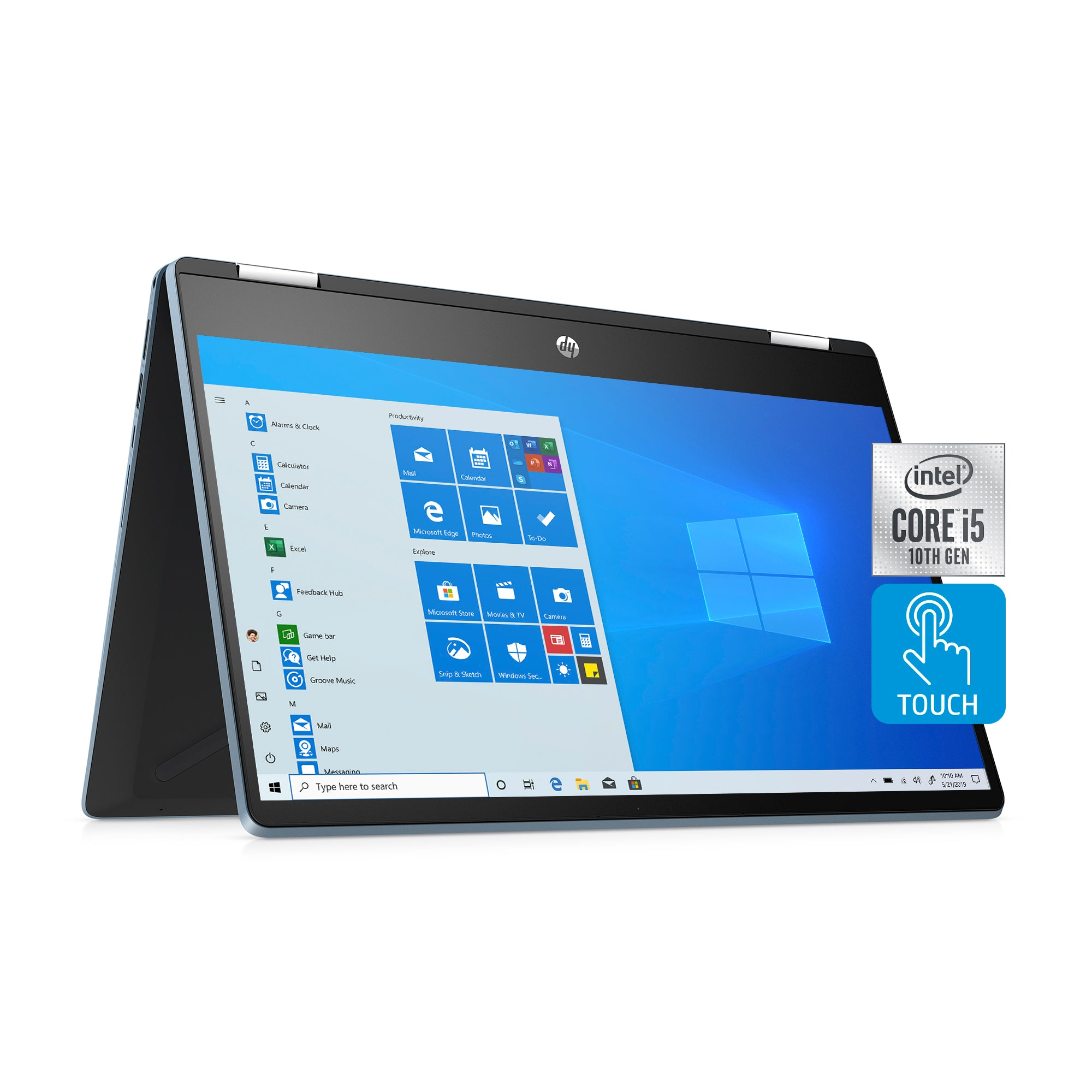 HP Pavilion x360 2-in-1 Touchscreen Laptop - 14