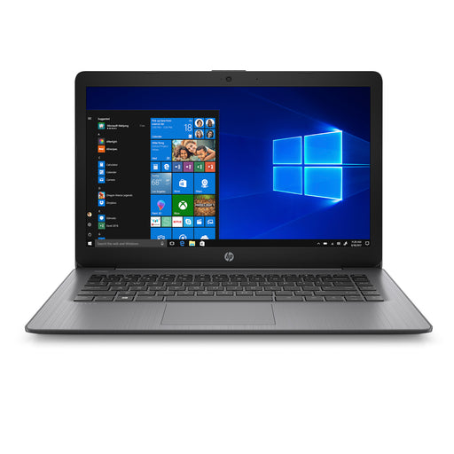 "HP Stream Laptop - 14"" Intel Celeron N4000, 4GB RAM, 64GB eMMC, Intel UHD Graphics 600, Windows 10 S - Black"