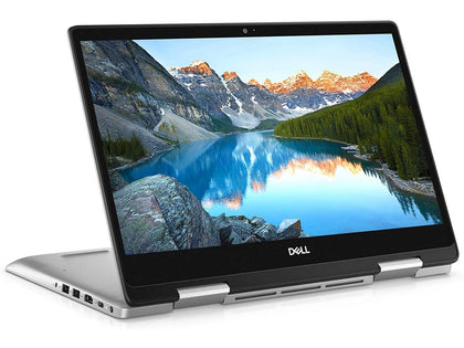 Dell Inspiron 14 5491 x360 Convertible Touchscreen Laptop - Intel core i5-10210U, 8GB RAM, 512GB SSD, Windows 10 Home - Silver