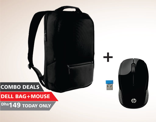 Combo Deals - Laptop Bag + HP Mouse