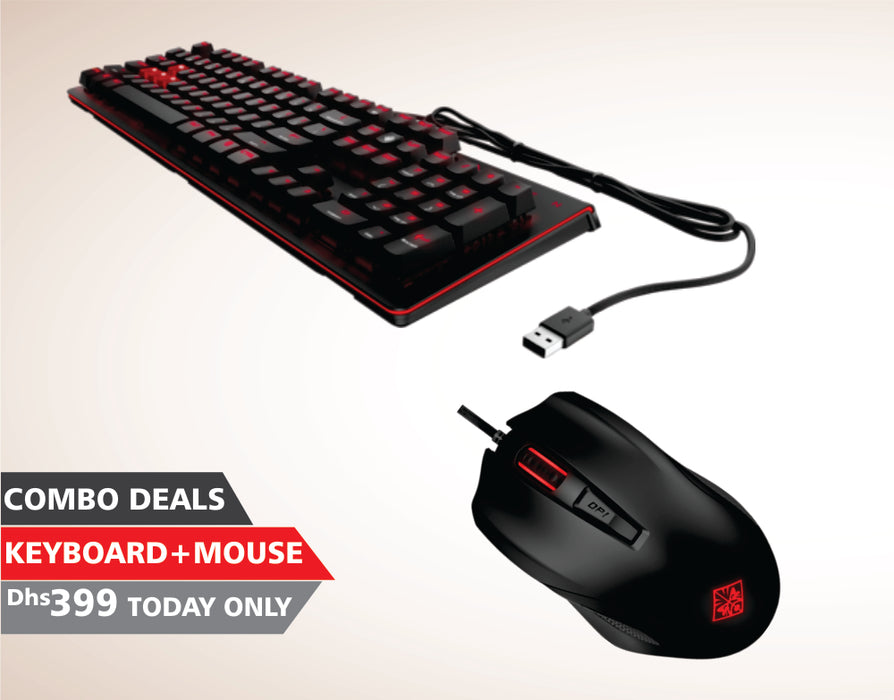 Combo Deals - Keyboard +MSI Gaming Mouse v3.0. S12-0401520-AA3