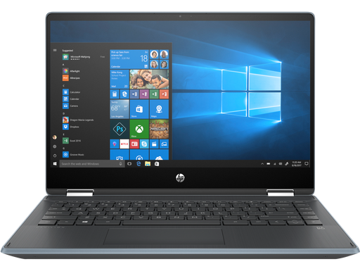 "HP Pavilion x360 Convertible Touchscreen Laptop - 14"" Core™️ i5-1035G1, 8GB RAM, 256GB SSD, Windows 10 - Cloud Blue"