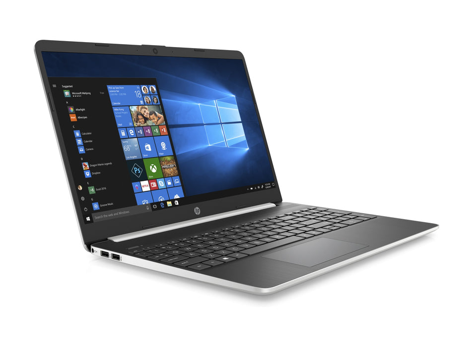 "HP 15-DY1028CA 15.6"" Laptop - Intel®️ Core™️ i7-1065G7, 8GB RAM, 512GB SSD, Windows 10 Home - Silver"