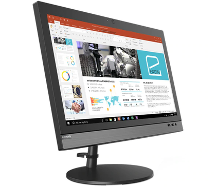 Lenovo V330 All-In-One - Intel Core i3-9100, 4GB DDR4, 1TB HDD, 19.5 inch HD, 9th Gen, Integrated Graphics, DOS - 10UK00G9AX