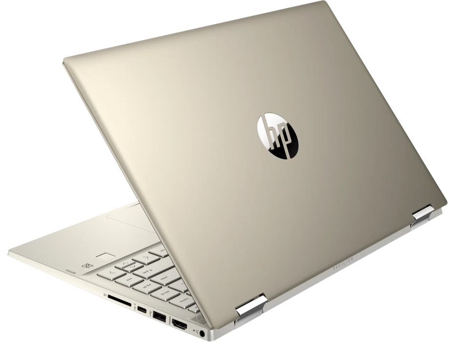 HP Pavilion x360 Convertible Touchscreen Business Laptop - Core™️ i5-1035G1, 8GB RAM, 256GB SSD, Fingerprint Reader, Backlit KBoard - Windows 10