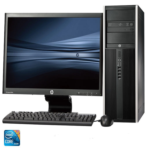 "HP Desktop 460-p293nhm Intel Core™ i7-7700T 2.9GHZ, 4GB , 1TB , English Keyboard, DVD-Writer, Free Dos black + 19KA 18.5"" LED-4ZK40EA#BH5"