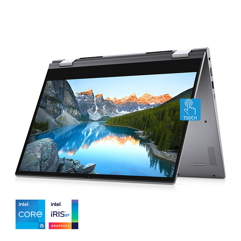 2021 Dell Inspiron 14 5406 2-in-1 Touchscreen Laptop - Core i5-1135G7, 8GB RAM, 256GB SSD, LED-Backlit KB - Windows 10